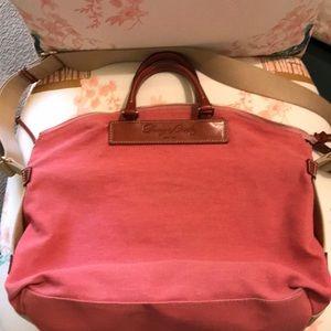 Dooney&Bourke large canvas messenger bag